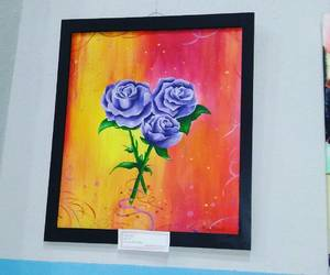 art, art exhibition, and colours image