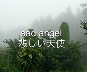 sad, angel, and grunge image
