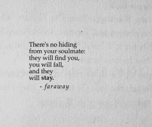 quotes, poem, and soulmate image