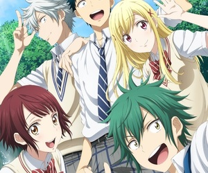 anime, shiraishi urara, and ito miyabi image