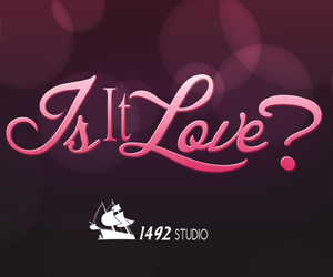 claire zamora, Logo, and is it love image