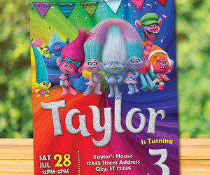 birthday party, colorful, and girl image