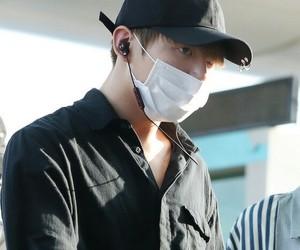 bts, jungkook, and airport image