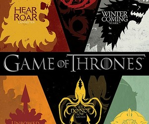 game of thrones, stark, and lannister image