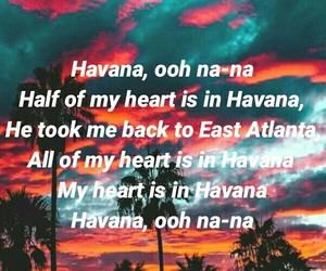 havana, Lyrics, and quote image