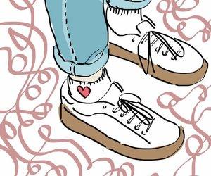 fashion, illustracion, and love image