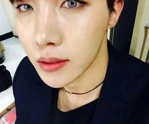 contacts, bts, and hoseok image