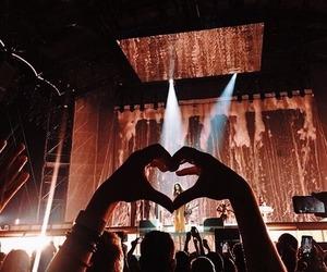 concert, orange, and burnt orange image
