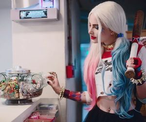 harley quinn, arlequina, and suicide squad image