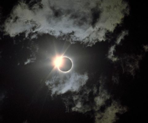 clouds, Darkness, and eclipse image