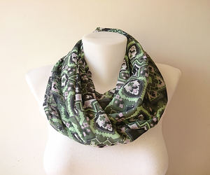 etsy, fashion accessories, and tribal print scarf image