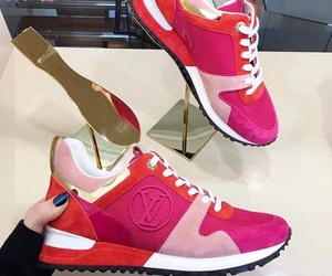 pink, shoes, and louisvuitton image