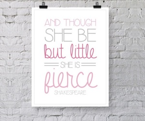 fierce and quote image