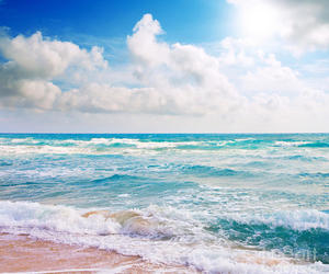 beach, landscape, and nature image