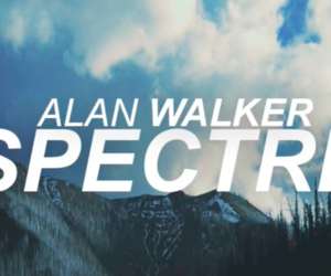alan walker and spectre image