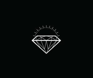 alternative, diamond, and iphone image