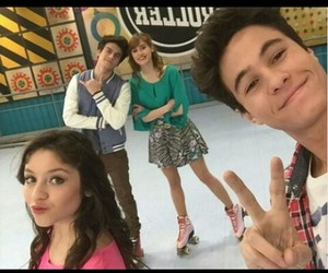 soy luna, michael ronda, and agustin bernasconi image