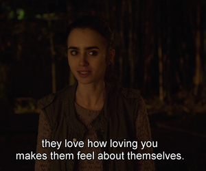film, lily collins, and netflix image