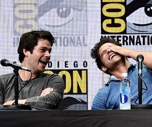 dylan o'brien, teen wolf, and tyler posey image