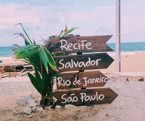beach and travel image