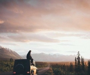nature, travel, and car image