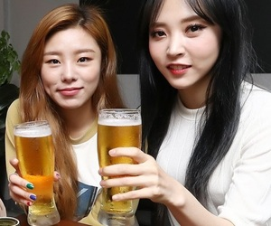 mamamoo, moonbyul, and wheein image