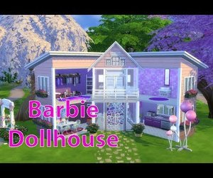 barbie, home, and pastel image