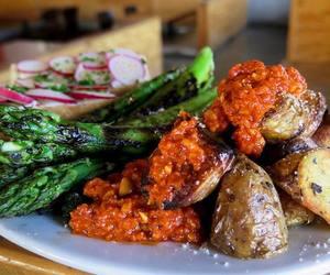 farmer's market, grill, and potato image