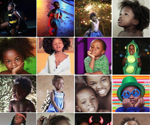 Afro, afros, and children image
