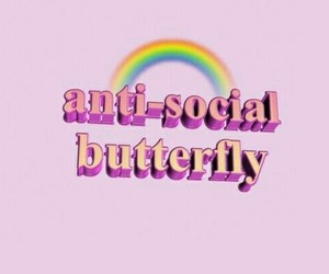 header, pink, and antisocial image