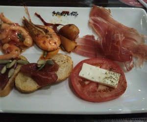 brazil, shrimp, and prosciutto image