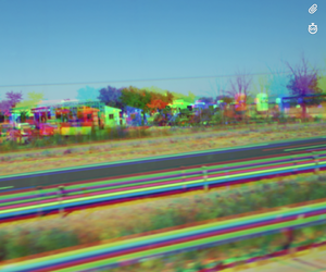colorful, highway, and quality image
