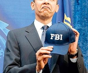 Barak Obama, fbi, and funny image