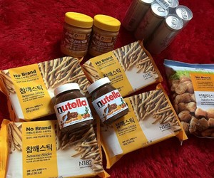 food, foodie, and nutella image