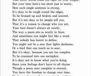 deep, depressing, and poem image