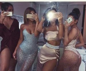 ass, dark, and dress image
