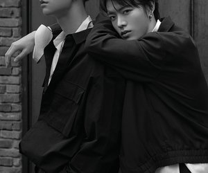 black and white, yuta, and boy image