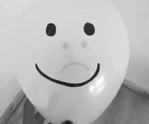 sad, grunge, and happy image