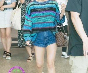kpop, airport fashion, and jiwoo image
