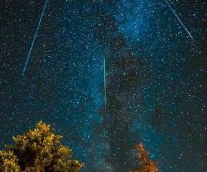 astronomy, meteor, and shower image