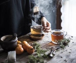 tea, autumn, and cozy image