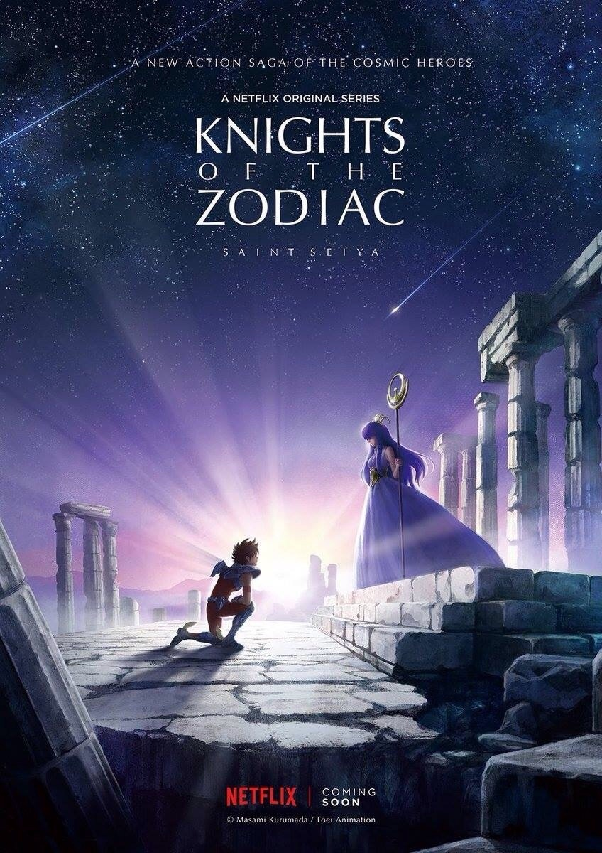 anime, knights of zodiac, and anime girl image