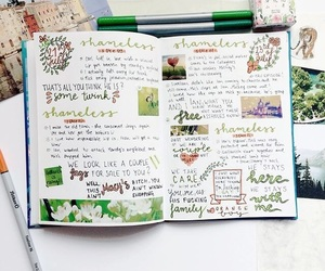 aesthetics, green, and journal image