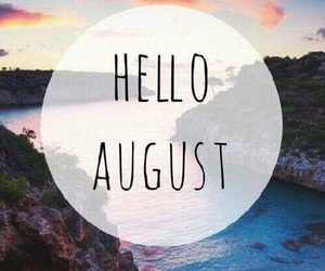 August, summer, and aout image