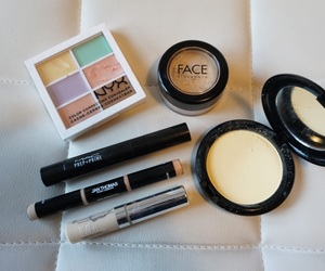 beauty, love, and cosmetics image