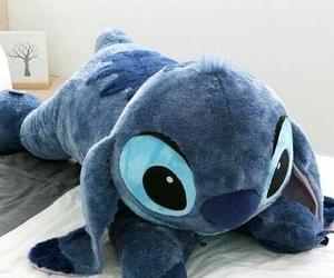 stitch, big, and blue image