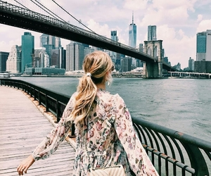 beautiful, blonde, and new york image
