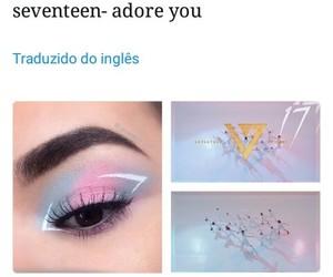 kpop, makeup, and Seventeen image