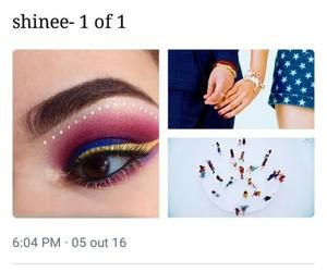 key, makeup, and SHINee image