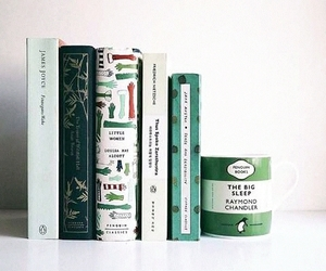 book, green, and tumblr image